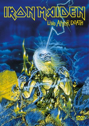 Live After Death - Image: Iron Maiden Live After Death DVD