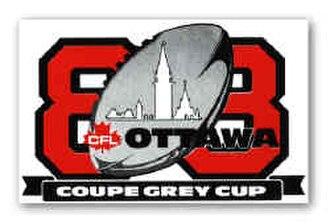 76th Grey Cup - Image: Item 3417 1