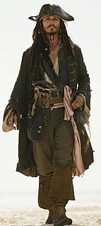 Protagonist of the Pirates of the Caribbean film series