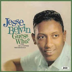 Jesse Belvin - Compilation CD cover