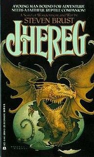 <i>Jhereg</i> (novel) 1983 novel in the Vlad Taltos series by Steven Brust