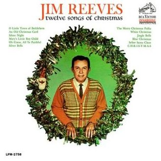 Twelve Songs of Christmas - Image: Jim Reeves Twelve Songs Of Christmas