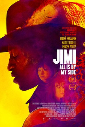 Jimi: All Is by My Side - Theatrical release poster