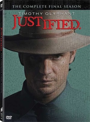 Justified (season 6) - Season 6 DVD cover