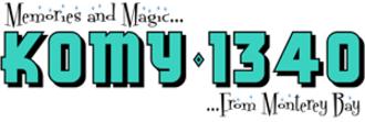 KOMY - Former KOMY 1340 logo until 2009