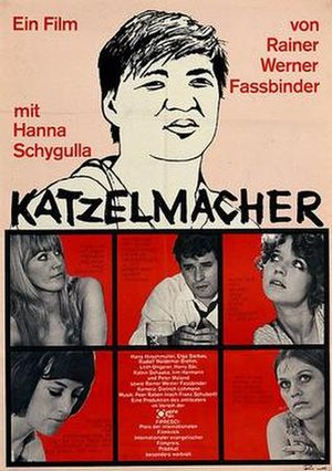 Katzelmacher - Theatrical release poster