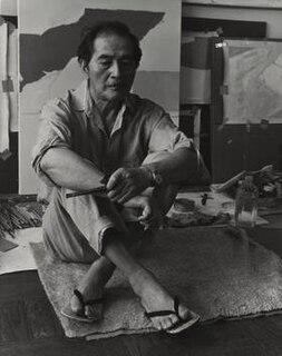 Kenzo Okada American artist (1902-1982)