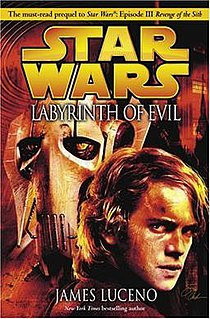 <i>Labyrinth of Evil</i> book by James Luceno