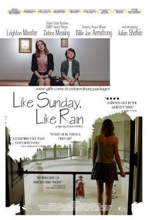 Like Sunday, Like Rain - Image: Like Sunday, Like Rain POSTER
