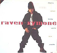 Raven symone rapping when she was little