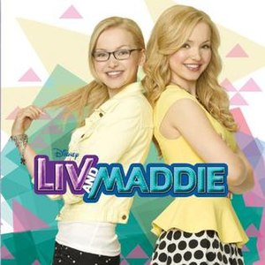 Liv and Maddie: Music from the TV Series - Image: Liv and maddie soundtrack disney
