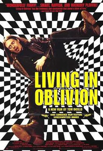 Living in Oblivion - Theatrical release poster