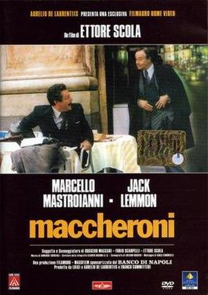 Macaroni (film) - Film poster