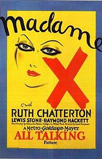 <i>Madame X</i> (1929 film) 1929 film
