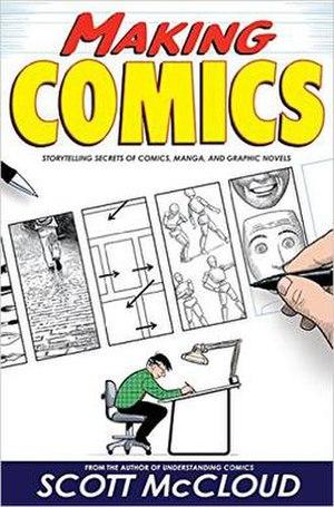 Making Comics - The cover of Making Comics.
