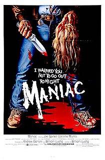 <i>Maniac</i> (1980 film) 1980 American horror film directed by William Lustig