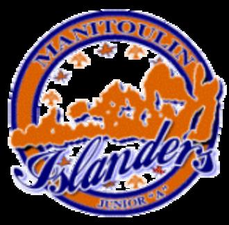 Kirkland Lake Gold Miners - Manitoulin Islanders' Logo