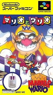 <i>Mario & Wario</i> 1993 video game