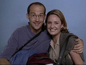 Mark Greene - Mark and Susan have their picture taken in a photo booth (1996).
