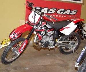 Gas Gas - 2005 MC 250 Motocross bike.