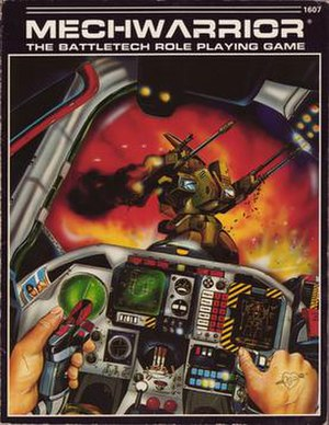 MechWarrior (role-playing game) - Image: Mech Warrior 1st edition 1986