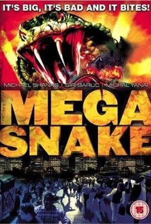 Mega Snake - DVD cover