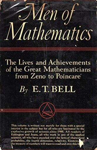 Eric Temple Bell - Image: Men of Mathematics