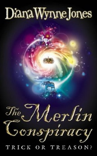 The Merlin Conspiracy - Cliff Nielsen cover of the first US paperback edition (Harper Trophy, May 2004)
