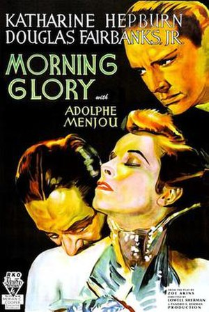Morning Glory (1933 film) - Original US cinema poster