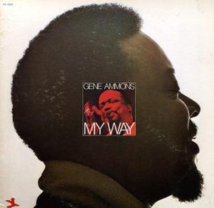 My Way (Gene Ammons album) - Image: My Way (Gene Ammons album)