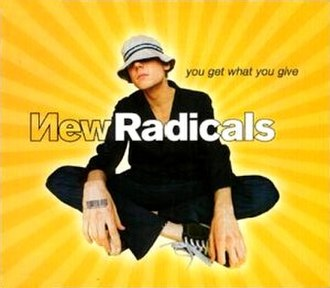 You Get What You Give (song) - Image: New Radicals YGWYG Single
