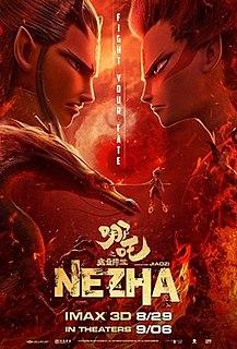 <i>Ne Zha</i> (2019 film) 2019 Chinese animated fantasy adventure film by Jiaozi