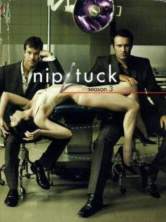 Nip/Tuck (season 3) - DVD cover