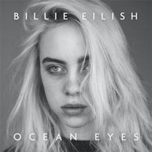 Ocean Eyes Official Single Cover By Billie Eilish Png