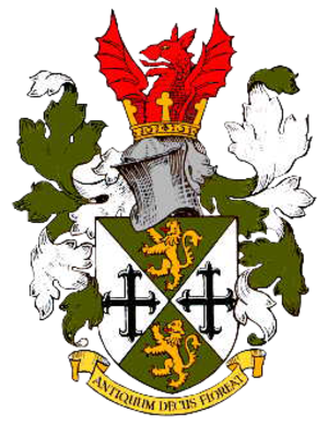 Oldbury, West Midlands - Coat of arms of the former Municipal Borough of Oldbury