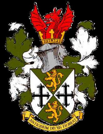 Oldbury, West Midlands - Coat of arms of the former Municipal Borough of Oldbury