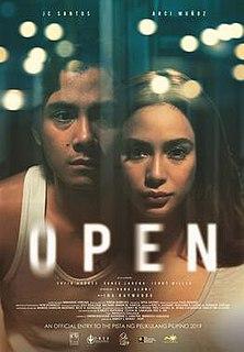 <i>Open</i> (2019 film) 2019 Philippine romance drama
