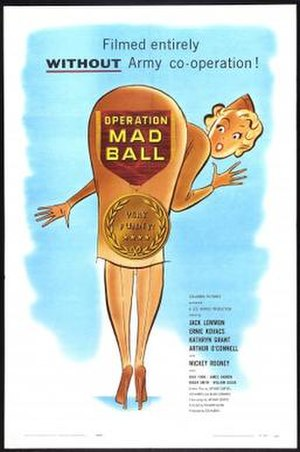 Operation Mad Ball - Theatrical release poster