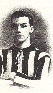 Picture of footballer Percy Barnfather