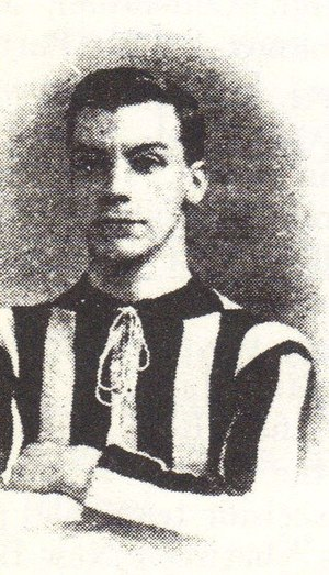 Percy Barnfather - Barnfather while with New Brompton in 1905.
