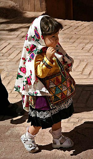 Persian handicrafts - Image: Persian Folklore Dress