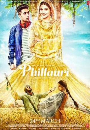 Phillauri (film) - Theatrical release poster