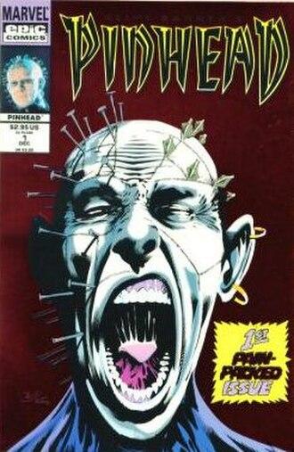 Pinhead (Hellraiser) - Image: Pinhead Comic 1