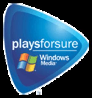Microsoft PlaysForSure - Playsforsure logo