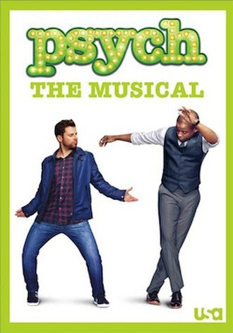 Psych: The Musical - DVD cover art