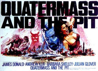<i>Quatermass and the Pit</i> (film) 1967 British science fiction horror film by Roy Ward Baker