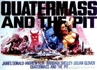 Quatermass and the Pit (film) - Image: Quatermass and the Pit (1967 film) poster