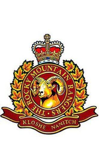 Rocky Mountain Rangers - Image: RM Rang Badge