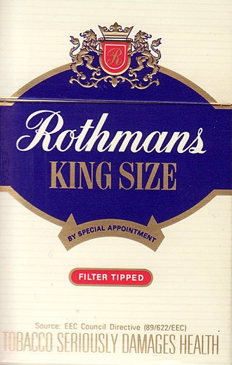 Rothmans International - Rothmans cigarettes