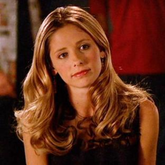 "Buffy Summers - Buffy, as portrayed by Sarah Michelle Gellar, taken from the episode ""Crush"" (2001)"